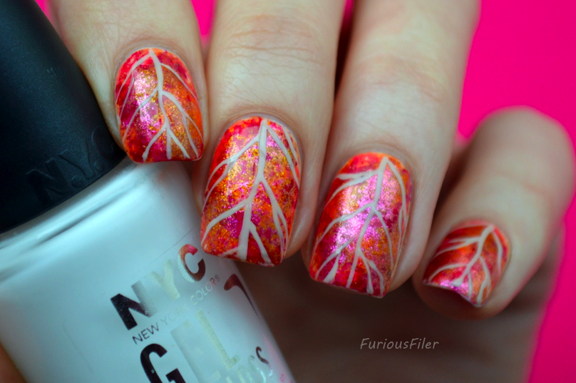Autumn Leaves Nail Art Tutorial