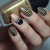 Nail Art Tutorial – Black & Gold Glam