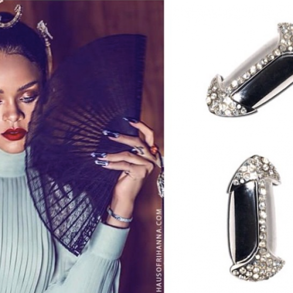 H&H Nails for Rihanna | Harpers Bizarre China