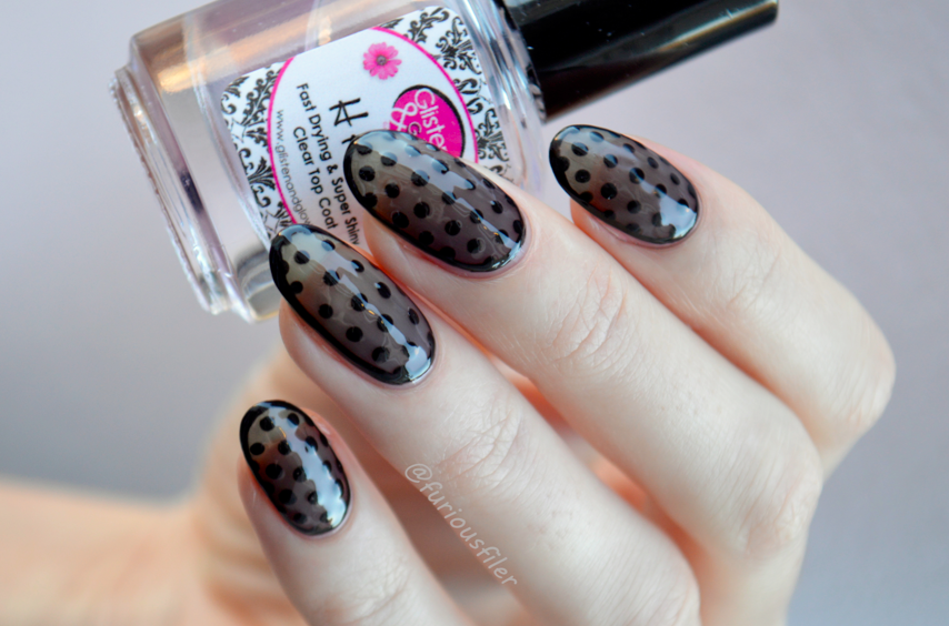 Sheer Dotticure Nail Art Tutorial