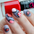 Nail Art Tutorial – Valentine's Day Patchwork