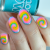 Nail Art Video Tutorial – Neon Tie Dye